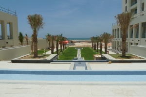 Dhofar beach Resort at Salalah